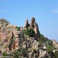 Calanche de Piana - Trou dans la roche