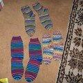 Chaussettes pour mes neveux et nièces