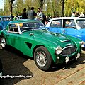 Austin healey 3000 Z avec hardtop (Retrorencard avril 2011)