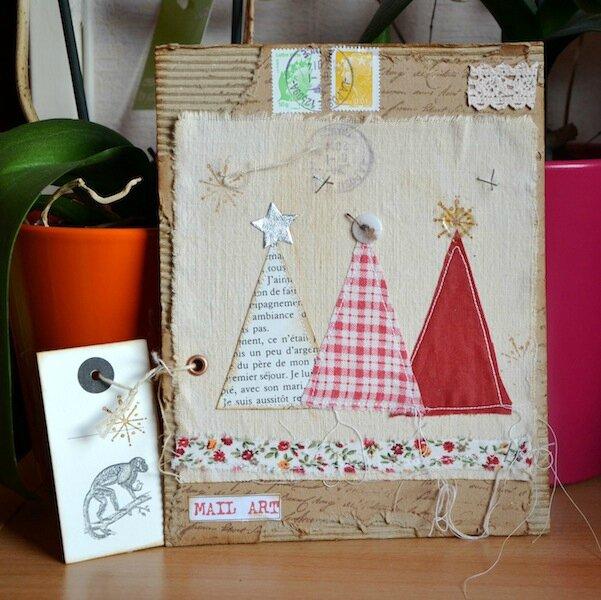 Mail Art de Voeux de Liliza - Janvier 2014