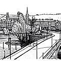 Croquis de rouen 1910