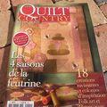 Quilt Country 4 saisons de la feutrine