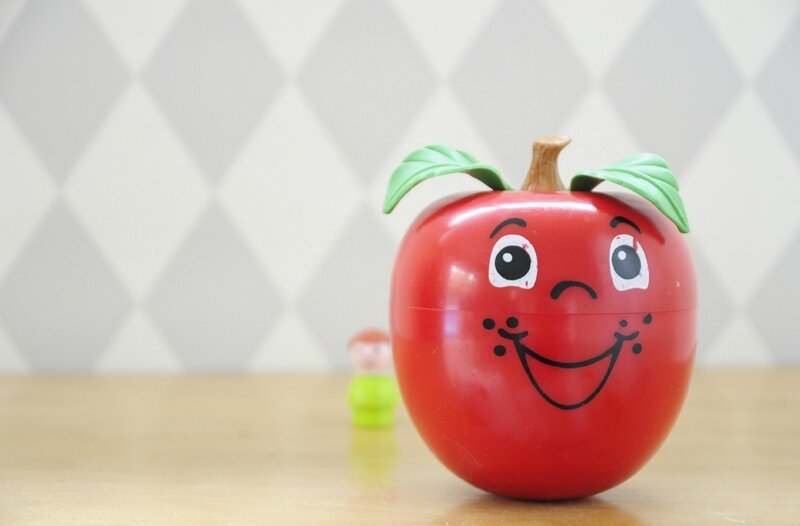 happy apple fisher price