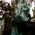 Monument funéraire du Père Lachaise.
