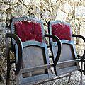 Anciens fauteuils de théâtre ...