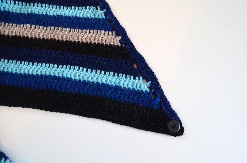 Chèche Homme-chale- crochet-laine-Creapassions-La chouette bricole (7)
