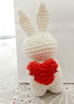 mini lapin au grand coeur - Anisbee