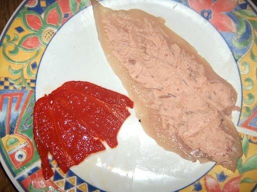 Rouleaux de poulet paté / poivron - Meli Cheffe Poule
