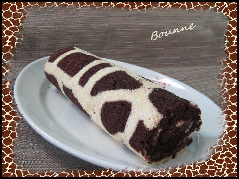 gâteau roulé girafe (3)