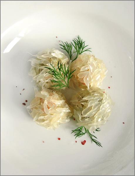 pomelos salade