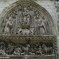 Détail de la Chapelle du château d'Amboise