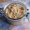 Rillettes de thon au curry