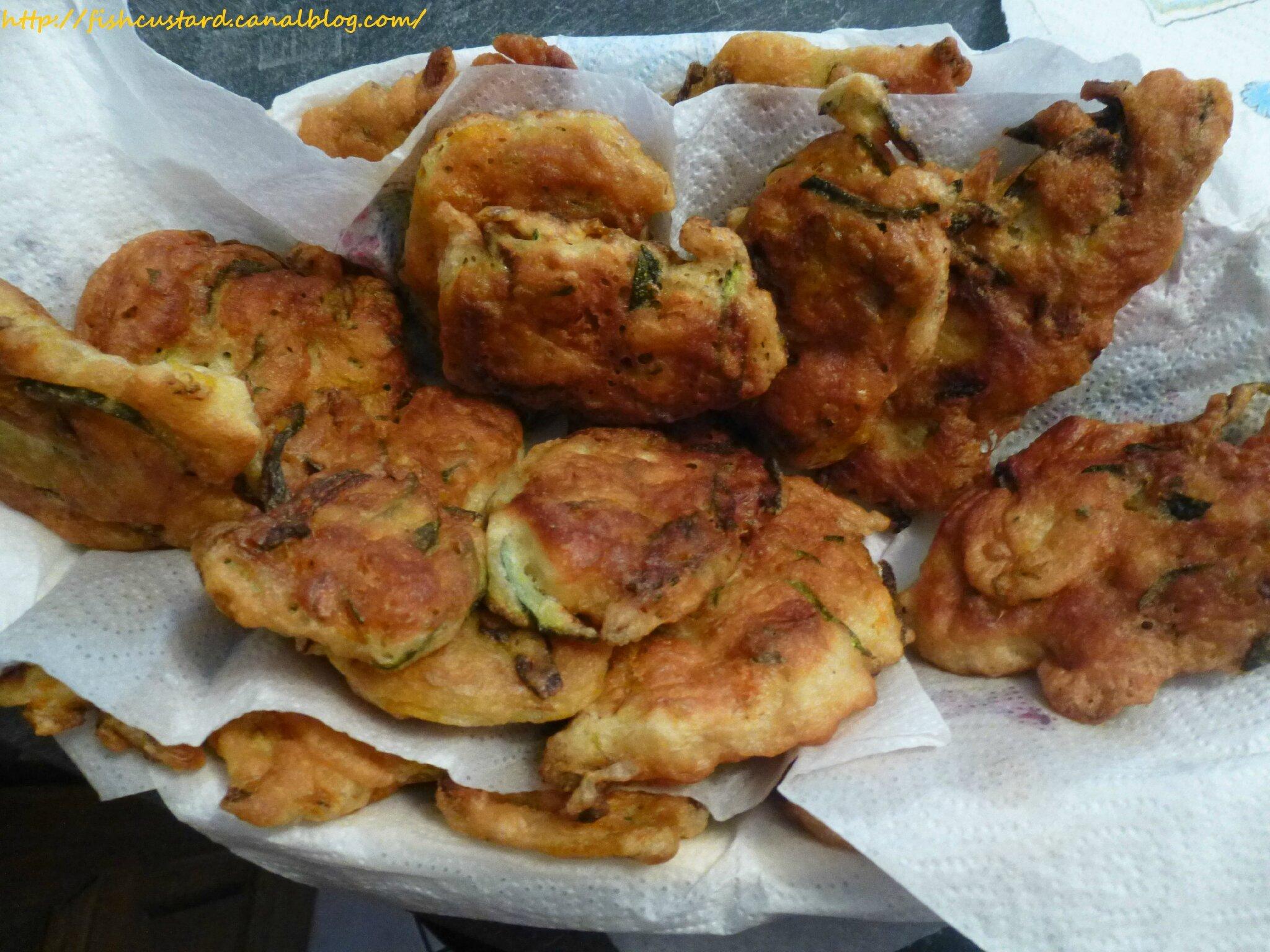 Fritelle di zucchini de Nonna Rosina