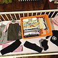 Accueillir un bébé : 3 - les vêtements