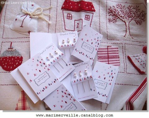 Epingles marimerveille Noël au bois N°2
