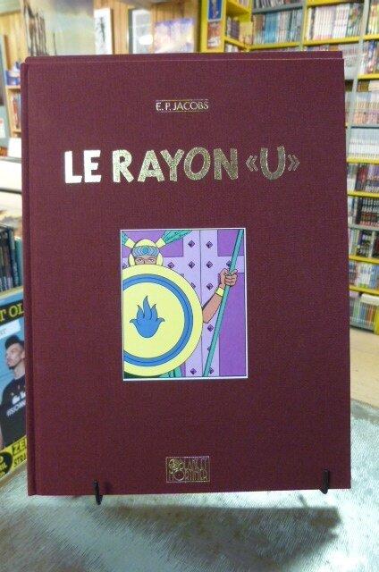 """E.P. JACOBS tirage de luxe : le rayon """"U"""" n°, 1991, 750ex sous emboîtage, 80€"""