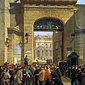 Lecture d'un discours rue Drouot, le 19 janvier 1871