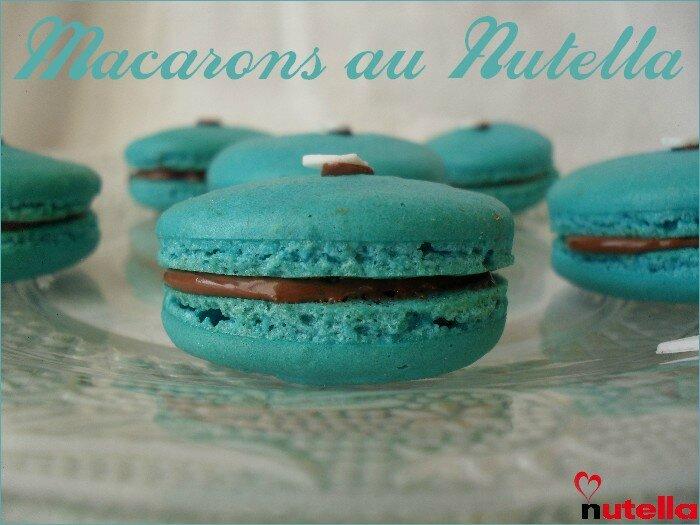macarons au nutella 1