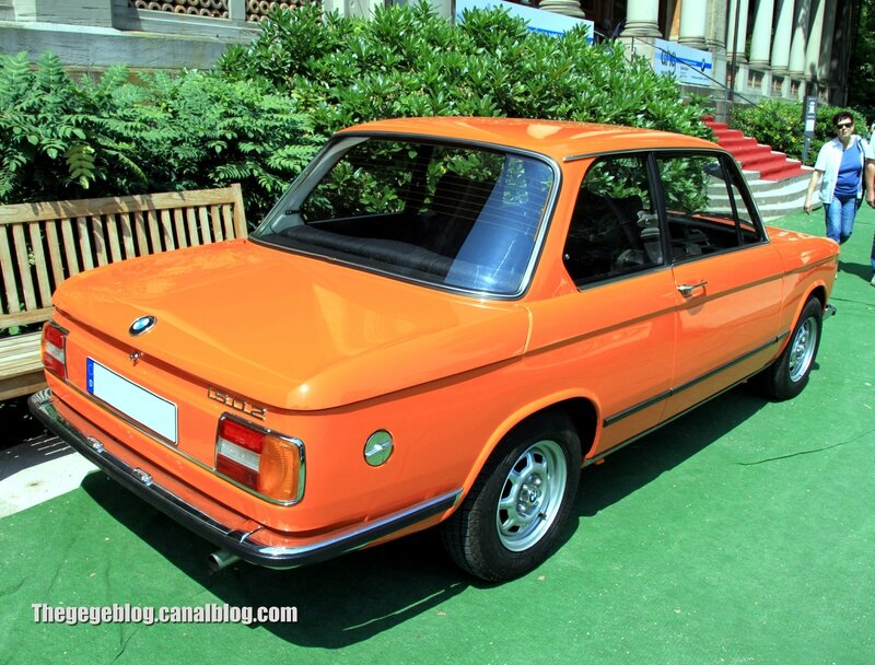 Bmw 1502 berline 2 portes de 1975 (37ème Internationales Oldtimer Meeting de Baden-Baden) 02