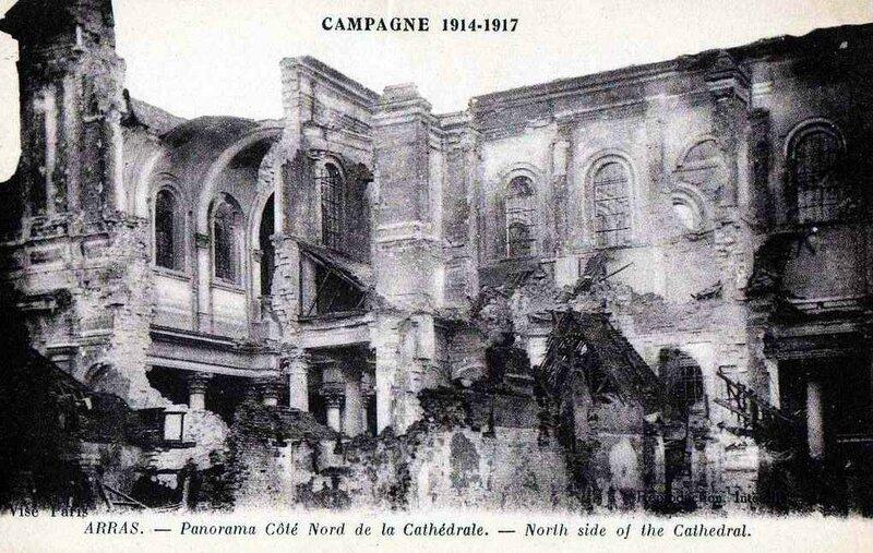Arras Cathédrale détruite4