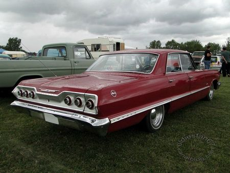 chevrolet impala sport hardtop sedan 1963 retro meus auto madine 2011 2