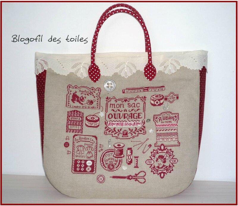 SAC A OUVRAGES DHAB DEVANT