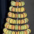Pièces macarons 8 étages (116 macarons)
