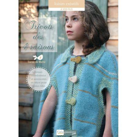 couverture tricots des 4 saisons