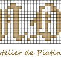 grille broderie Amour