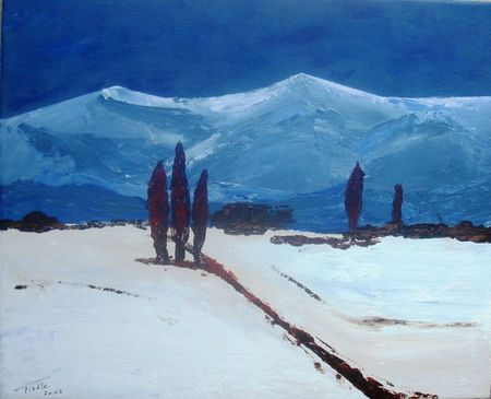 81- Montagne bleue