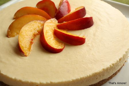 Cheesecake_nectarines