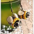 Boucles maya l'abeille