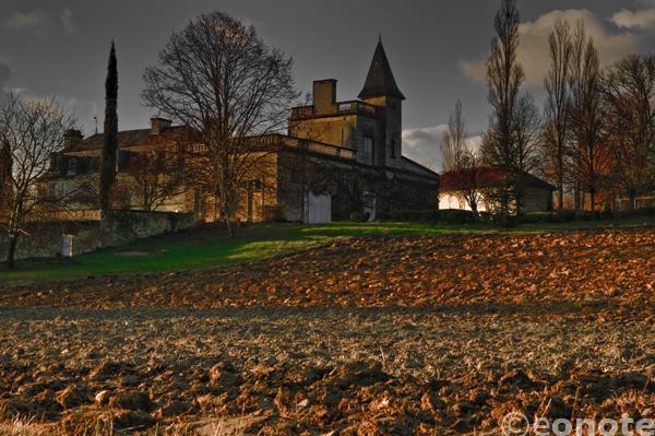 hdr, eos 7d, canon, castle, chateau, dark, Poitou Charentes