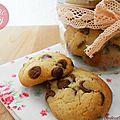 Cookies pépites de chocolat au lait so yummy !