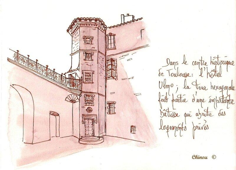 Hotel Ulmo Rue NinauToulouse