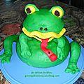 Gâteau grenouille
