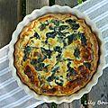 tarte poulet épinards lilybouticlou