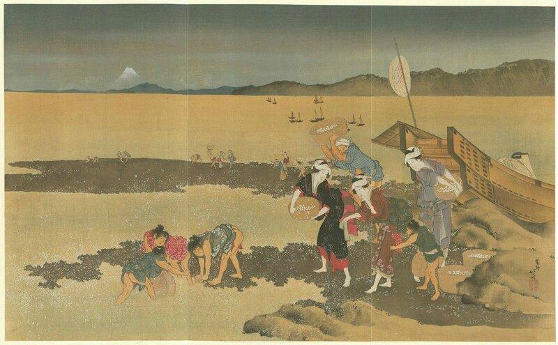 Hokusai scène de vie 01