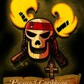 titre logo Pirate des caraibes pirate of caribbean 2