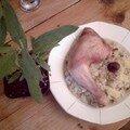 Risotto de la fôret au poulet