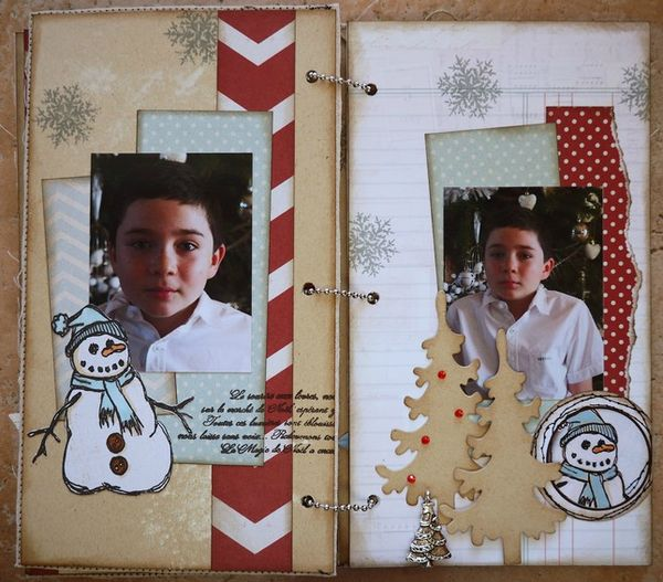 Mini album Scrapbox dcembre 16