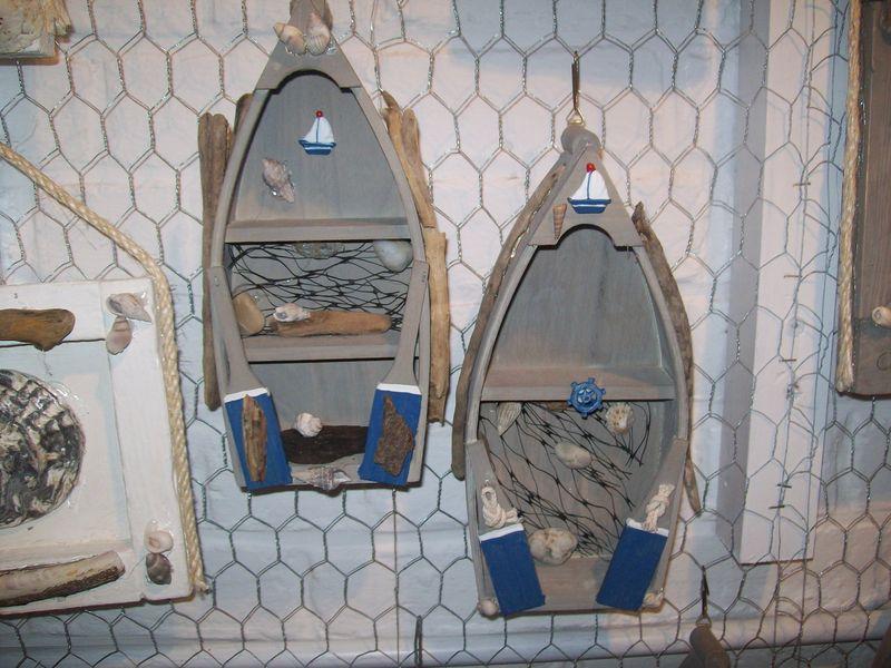 barque hauteur 25 cm decorations marines thierry doyen fabricant de luminaires en galets et. Black Bedroom Furniture Sets. Home Design Ideas