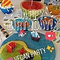 Organiser un anniversaire végane (+ gâteau pirate!)