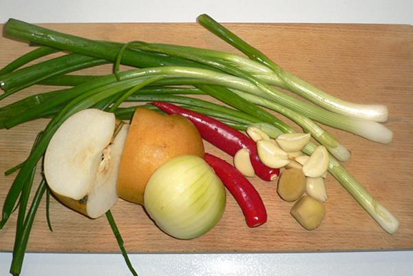 Assaisonnement de kimchi blanc végétarien