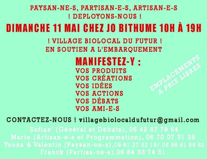appel paysans artisans militants 2