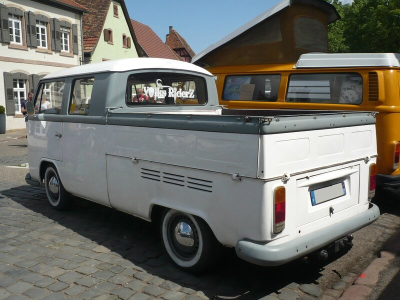 VOLKSWAGEN Combi type 2 Doka double cabine pick up Molsheim (2)