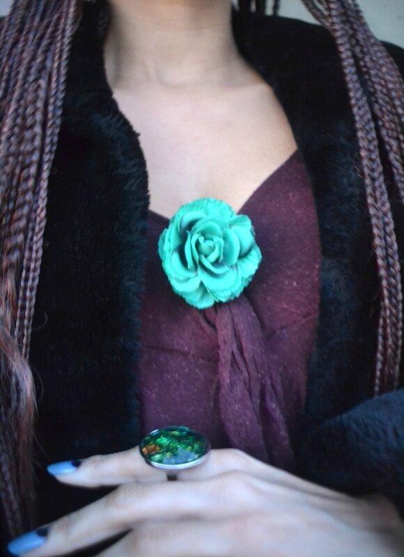 Comment recycler une robe pour Noël Sara.Ki -