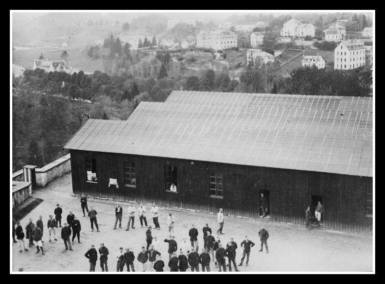 prisonniers alsaciens-lorrains 6 baraquements