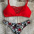 Summer is around the corner ! what about a red bikini ?!