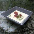 Velouté de chou-fleur et de panais à la coppa croustillante (Epices et compagnie)